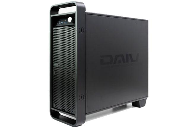 DAIVのデスクトップ